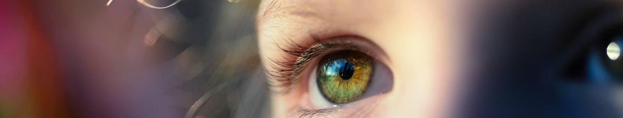 girl, iris, eye
